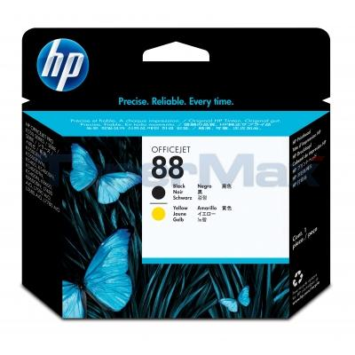 HP NO 88 PRINTHEAD BLACK AND YELLOW